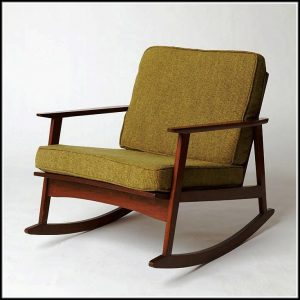 mid century rocking chair mid century rocking chair