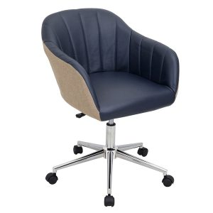 midback office chair sherwin office chair navy