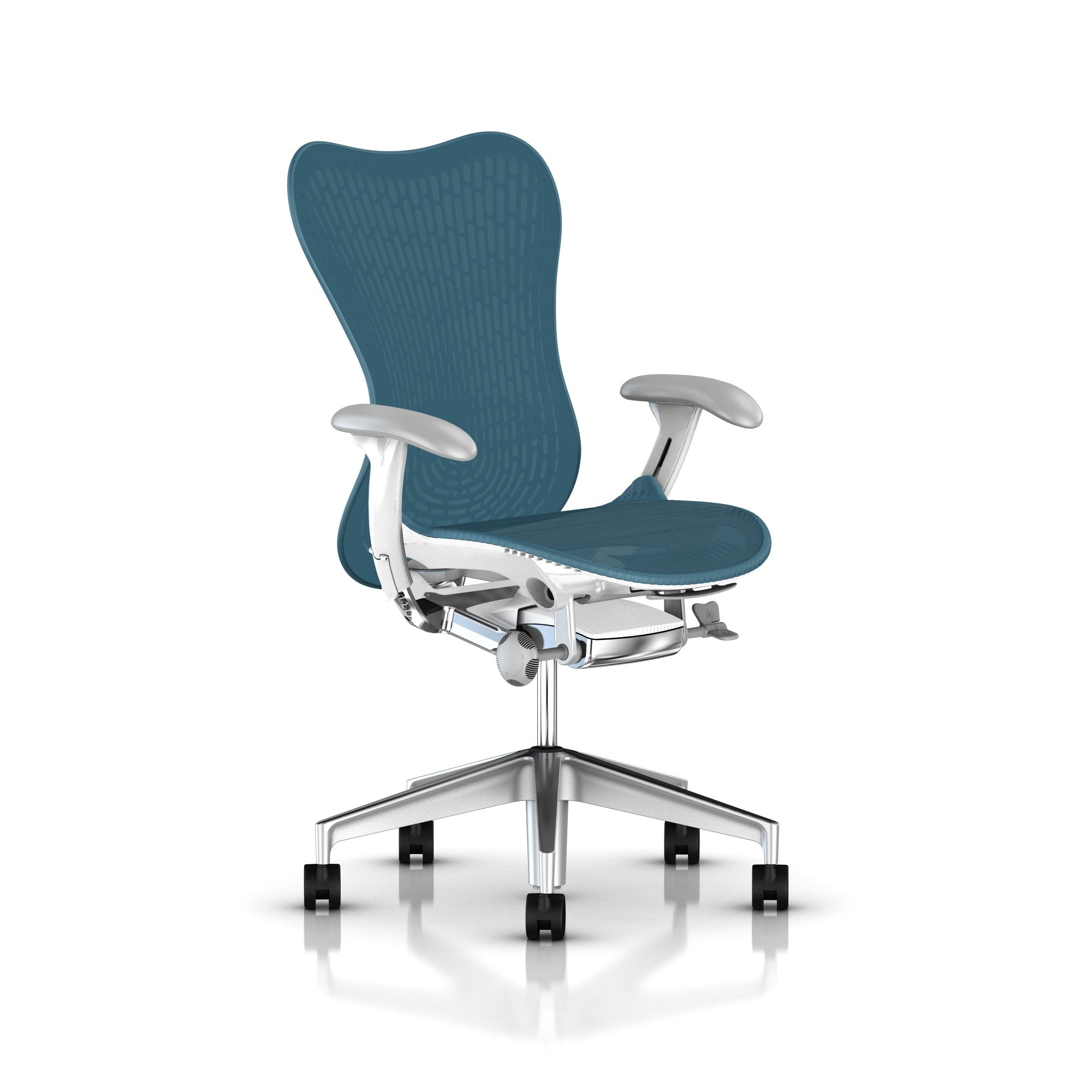 mirra chair herman miller mirra chair executive turquoise front