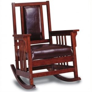 mission style chair l