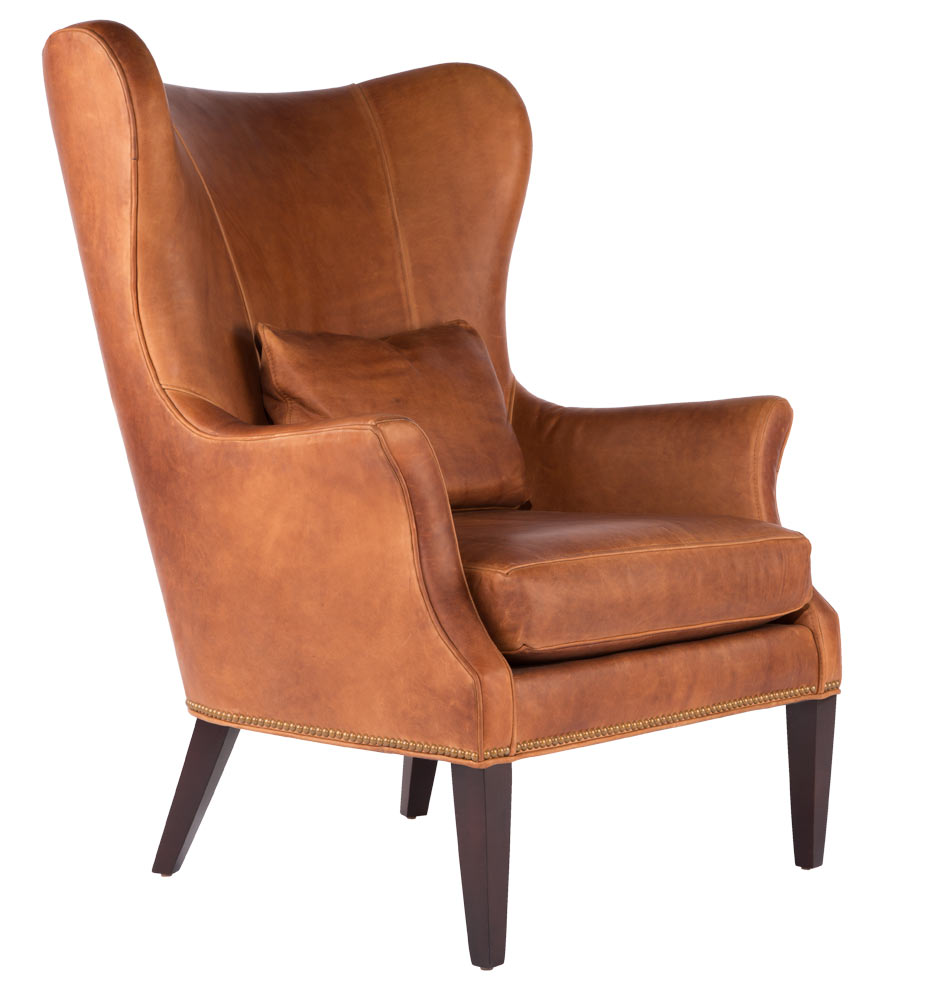 modern wingback chair