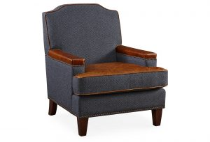 navy accent chair full size
