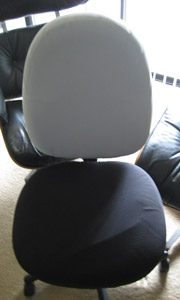 office chair seat covers silvercover
