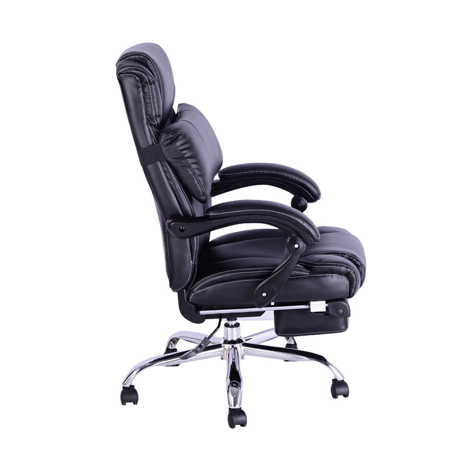 office chair with footrest