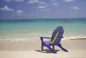 old blue chair blue beach chair dana edmunds