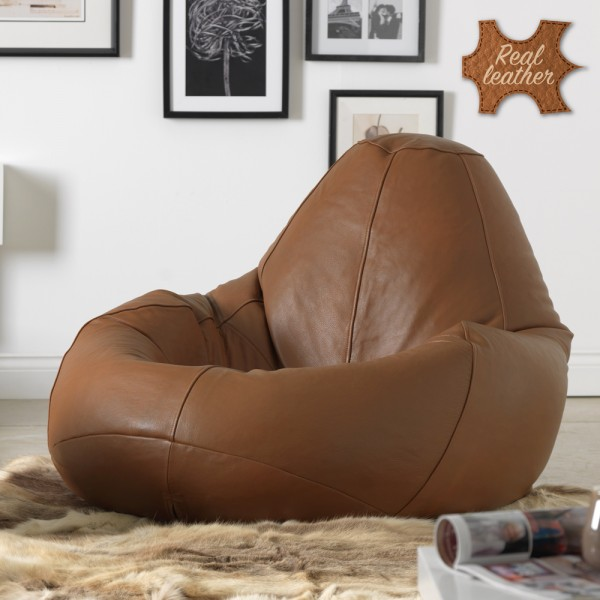 outdoor bean bag chair lf monoluxe realleather recliner