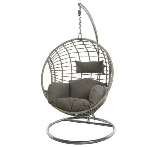 outdoor egg chair original pale grey indoor outdoor hanging chair