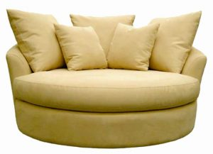 oversized comfy chair oversized cream round reading chair