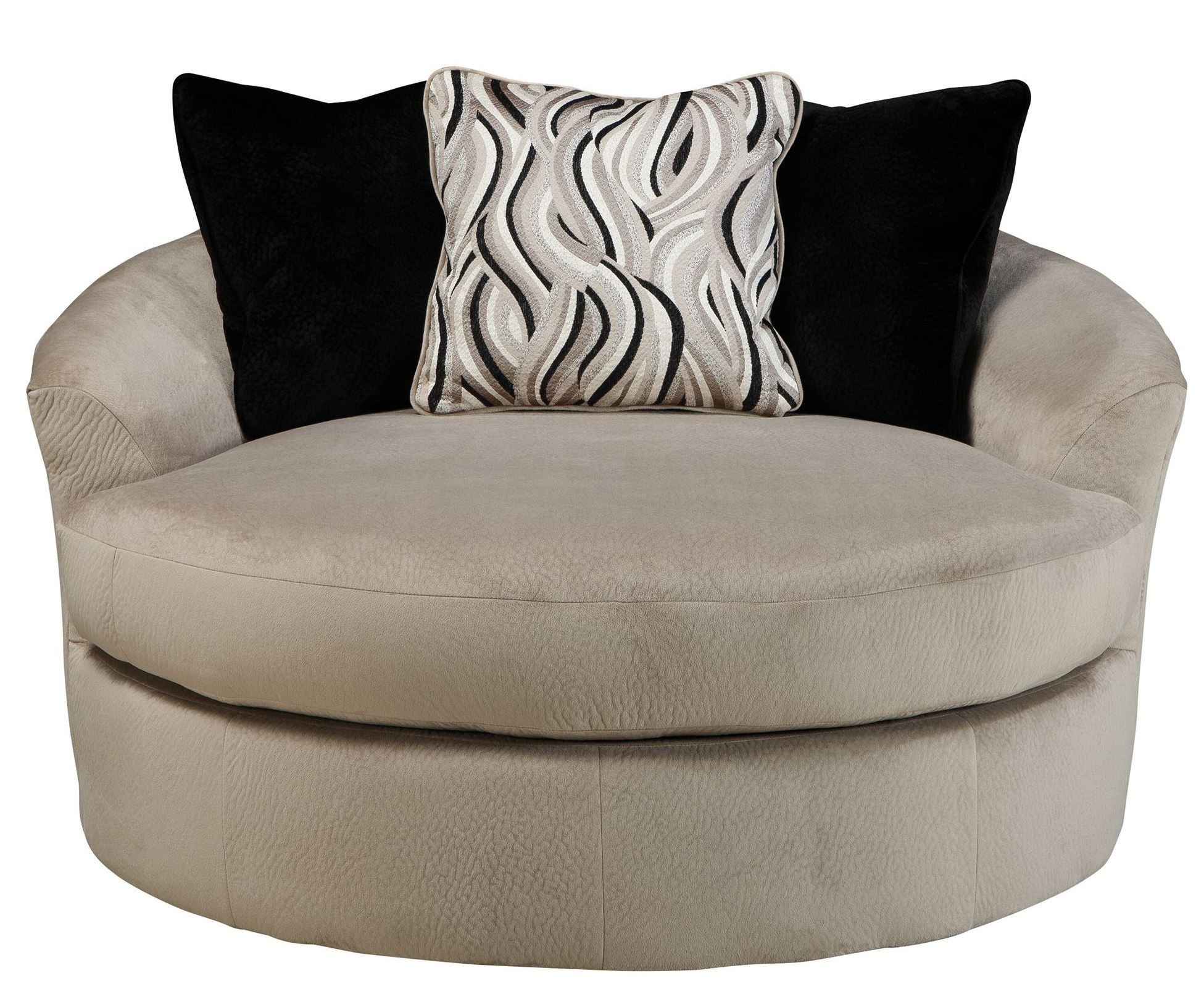 Outsized Swivel Accent Chair. Oversized Swivel Accent Chair