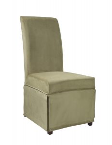 parson chair covers powell skirted slip cover for parsons chair single slip cover skirt raw