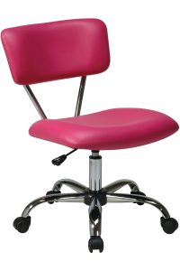 pink desk chair st v