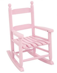 pink rocker chair