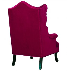 pink velvet chair madison pink velvet wing chair