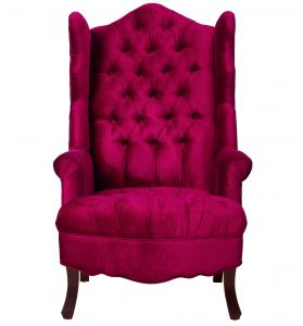pink velvet chair madison pink velvet wing chair aea