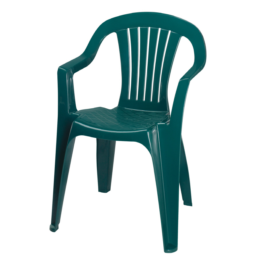 plastic lawn chair
