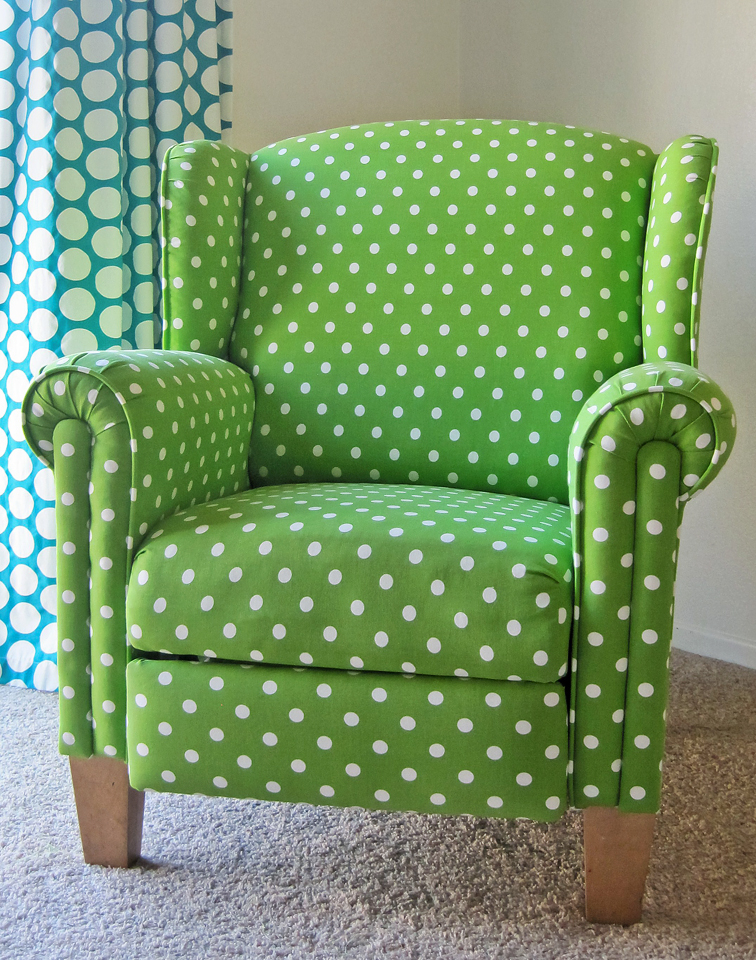 polka dot chair