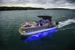 pontoon boat captains chair avalon ambassador entertainer