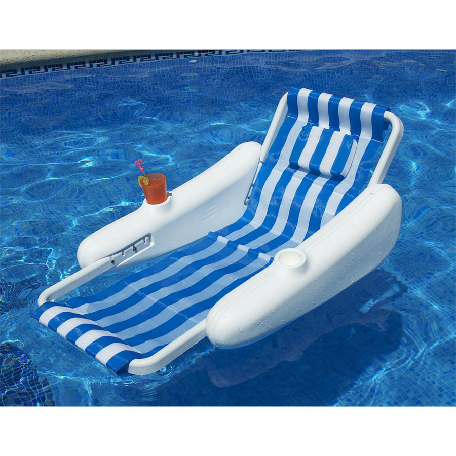 pool chair float empty