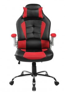 professional gamer chair merax high back gaming chair front e