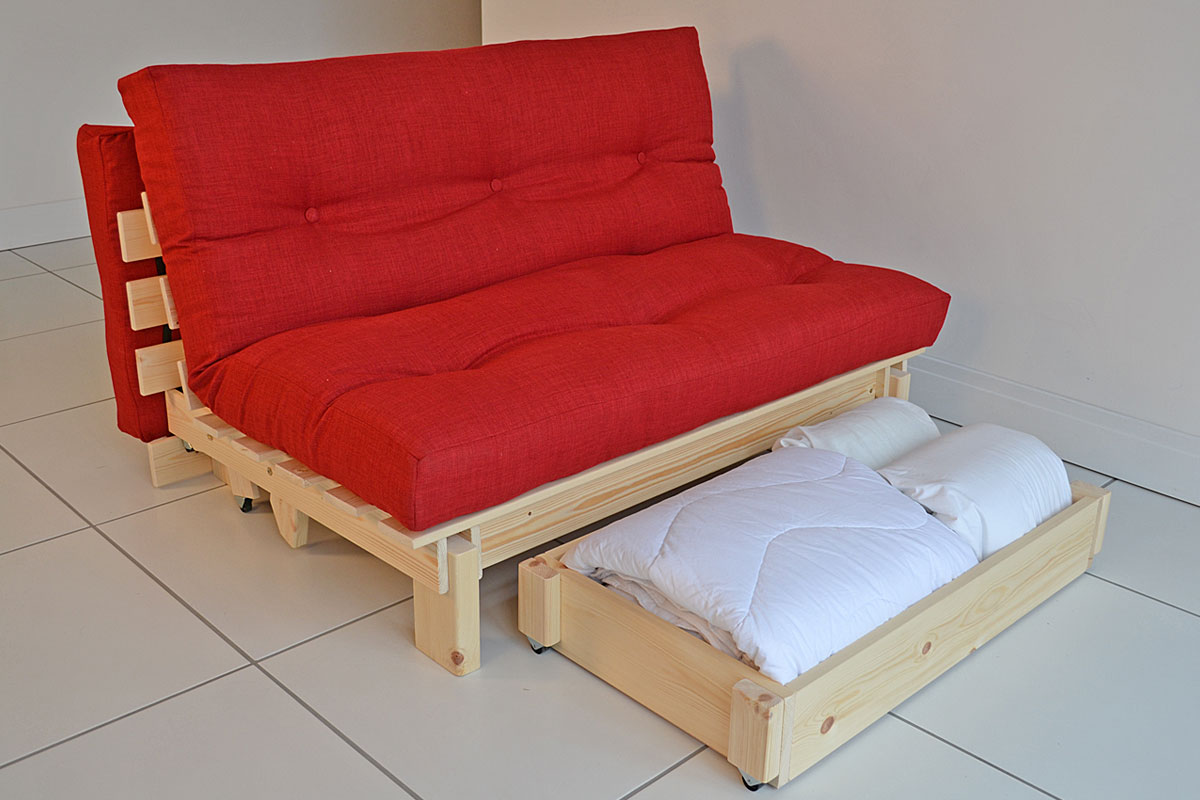 pull out chair bed