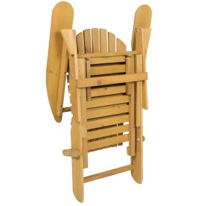 pull out chair outdoor adirondack wood chair foldable w pull out ottoman patio deck furniture