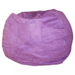 purple bean bag chair purple miscrosuede beanbag x