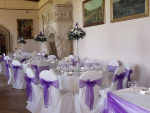 purple chair cover ashton cout wedding decorations flowers and chair cover full wedding decorations service()