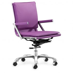 purple computer chair super stylish purple desk chair with arms for girls