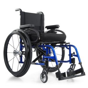 quickie wheel chair quickie side view