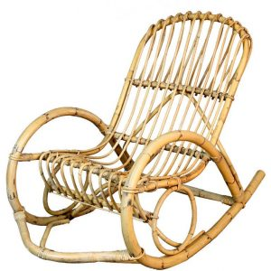 rattan rocking chair l