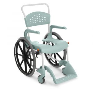 raz shower chair etac clean self propelled shower commode chair cm seat height p image