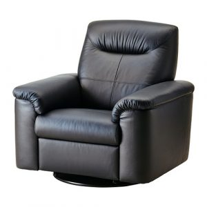 recliner chair ikea timsfors swivel recliner black pe s