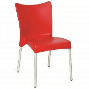 red chair cafe chopin sidechair red l
