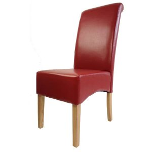 red leather chair padstow red chair