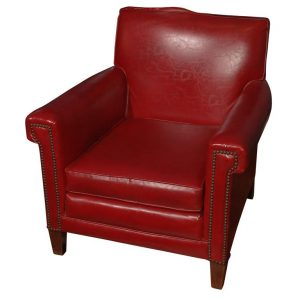 red leather chair xdsc