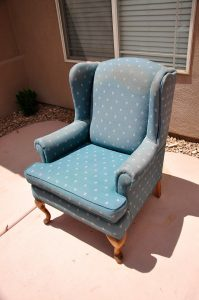 reupholster wingback chair upholstering a wing back chair