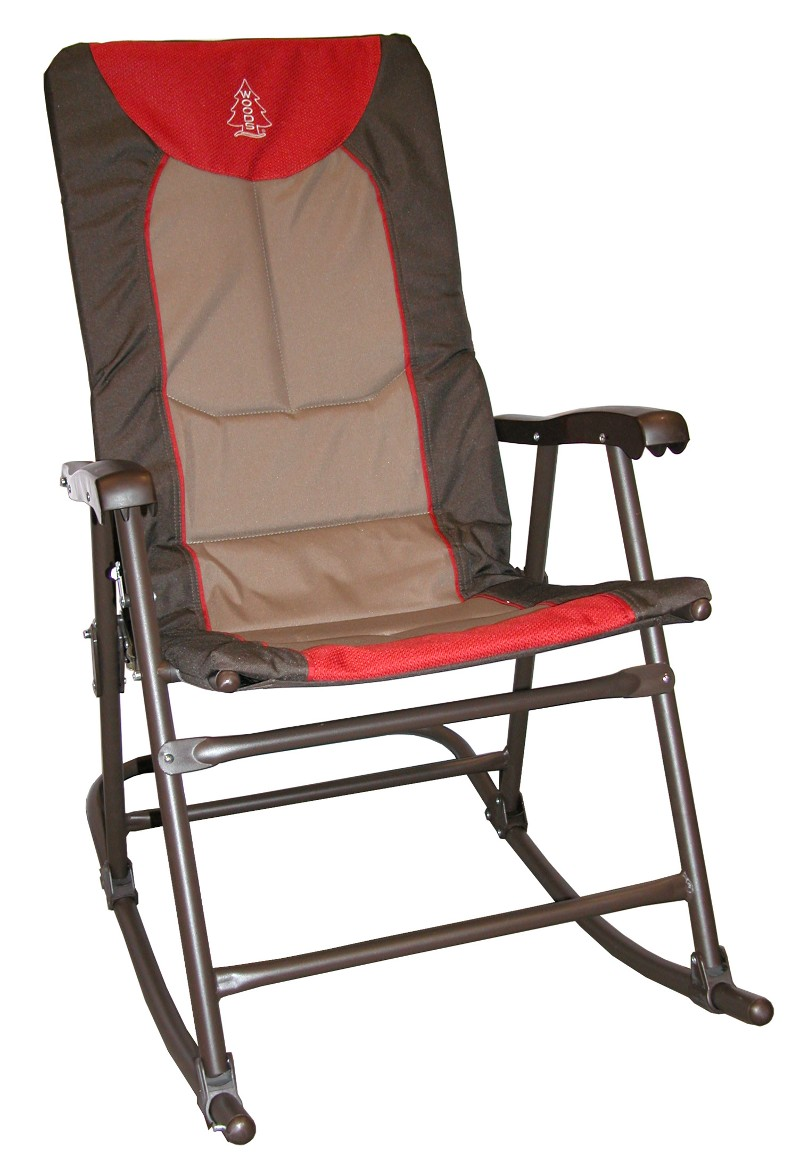 rocking camp chair