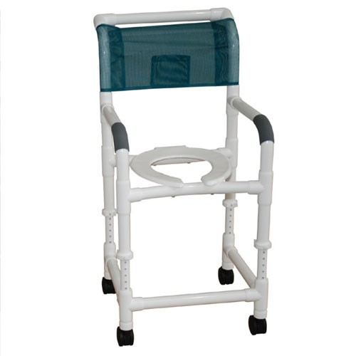 rolling shower chair adj