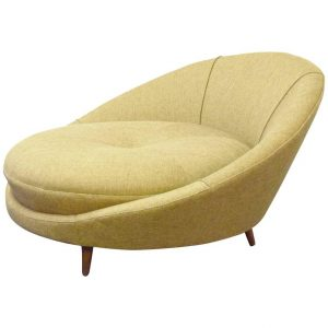 round lounge chair l