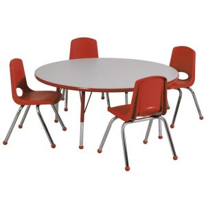 round table with chair spc preschool round table chair package