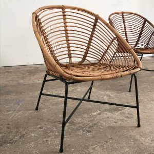 round wicker chair decorative antique modern