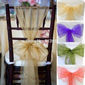 sashes for chair pcsnew hotel wedding supplies organza chair cover sashes good quality table runner wedding party cover