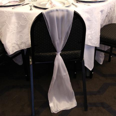 sashes for chair sheer chair sash white large
