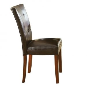 silver dining chair l