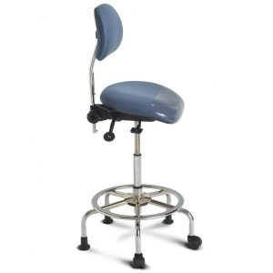 sit stand chair inss blue sm