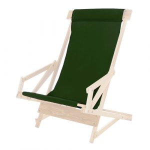 sling chair fabric sling green