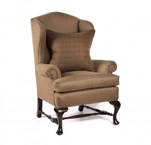 small wingback chair e
