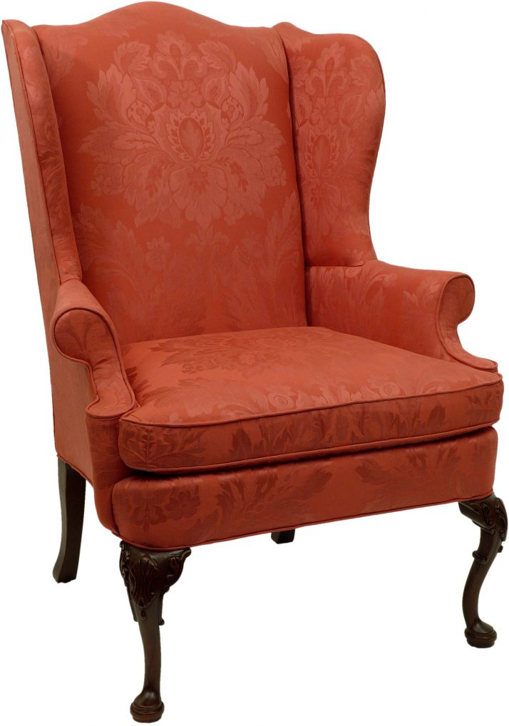 small wingback chair
