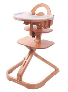 smallest high chair svan high chair in cherry