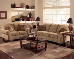 sofa and chair set townhouse tawny sofa loveseat and chair set
